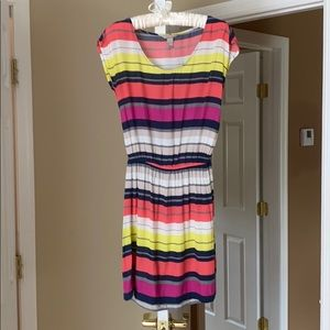 Banana Republic Striped Casual Dress